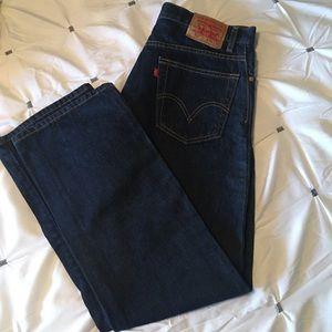 LEVIS Mens 517 Boot Cut Jeans Like New Sz 36 x 32